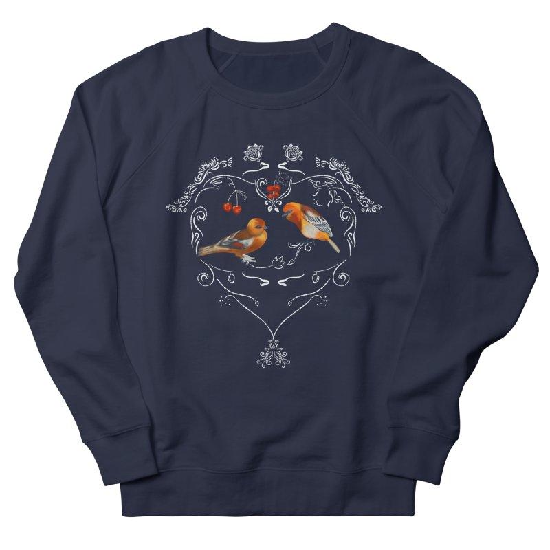Birds in love Men's Sweatshirt by Kreativkollektiv designs