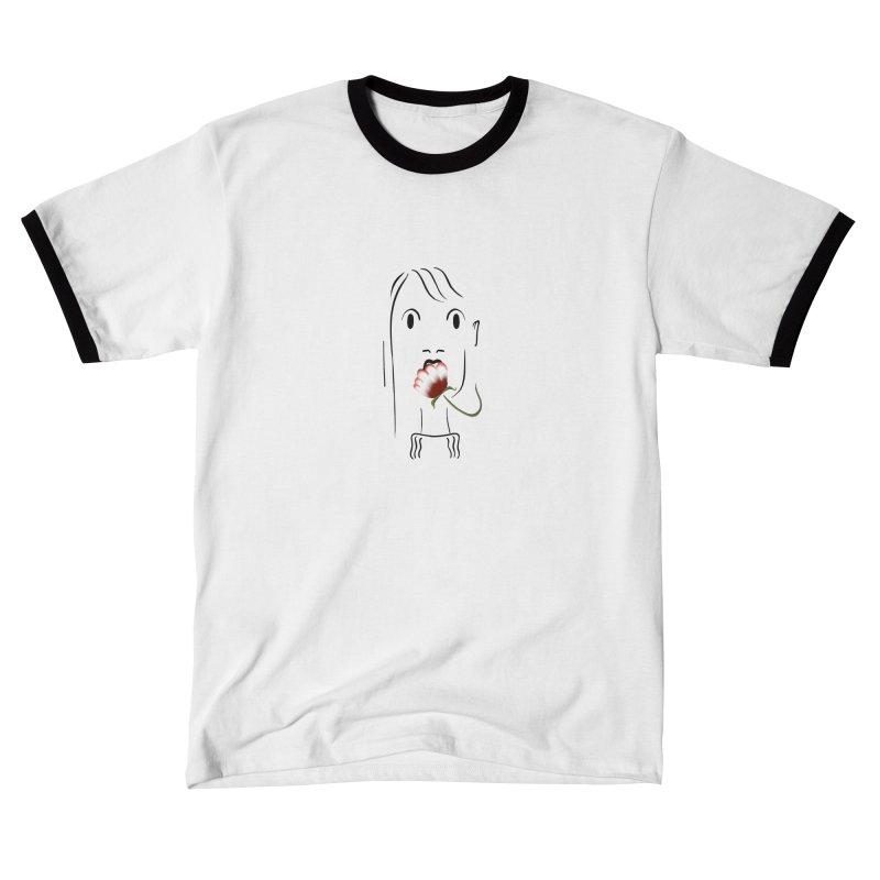 Surprised woman Women's T-Shirt by KreativkDesigns Artist shop