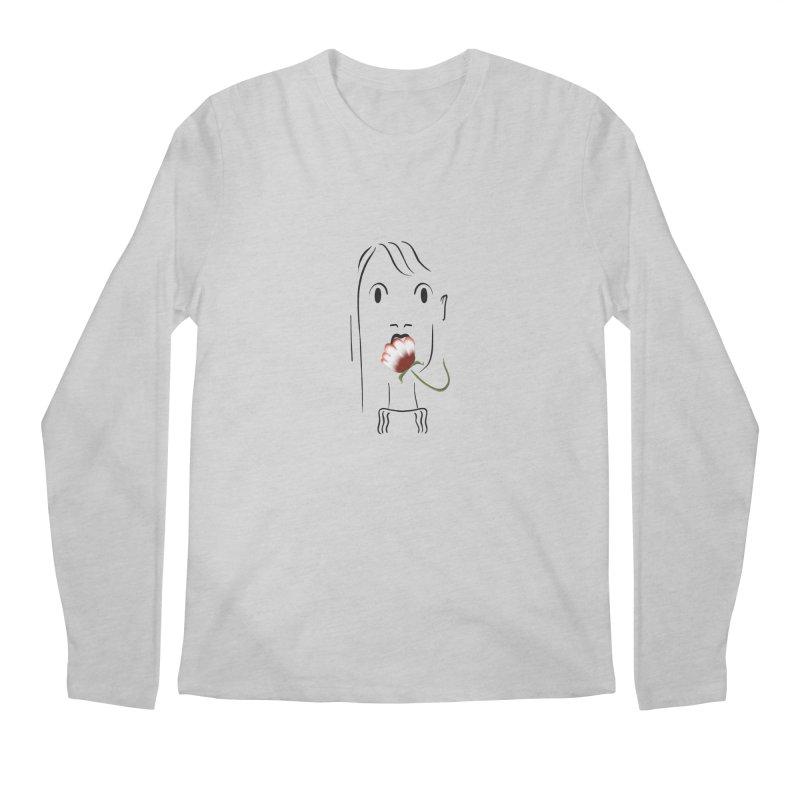 Surprised woman Men's Longsleeve T-Shirt by KreativkDesigns Artist shop