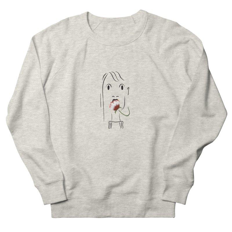 Surprised woman Men's Sweatshirt by KreativkDesigns Artist shop