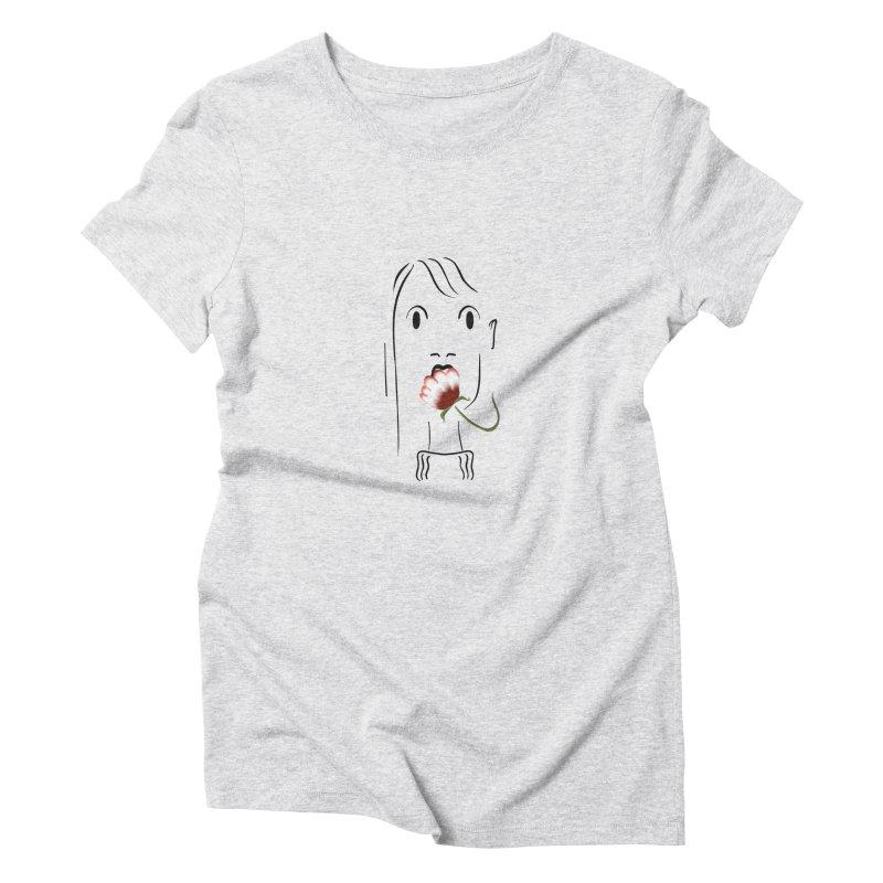 Surprised woman Women's T-Shirt by Kreativkollektiv designs