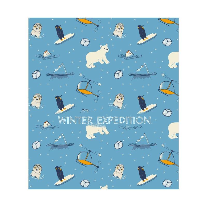 Winter expedition Accessories Neck Gaiter by Kreativkollektiv designs