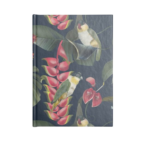 image for Pink plants and parrots