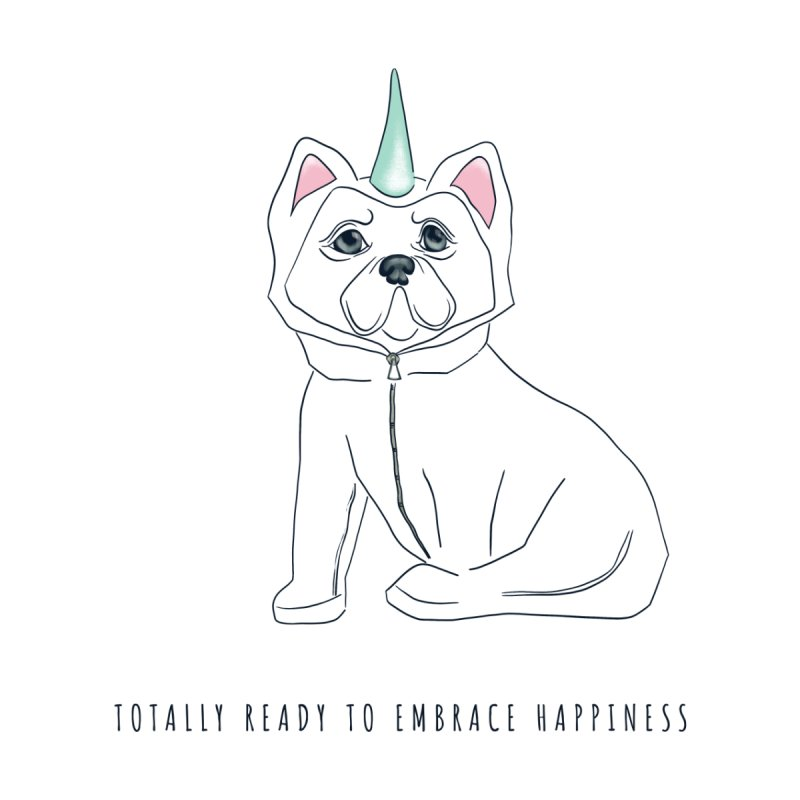 Totally ready to embrace happiness Women's T-Shirt by KreativkDesigns Artist shop
