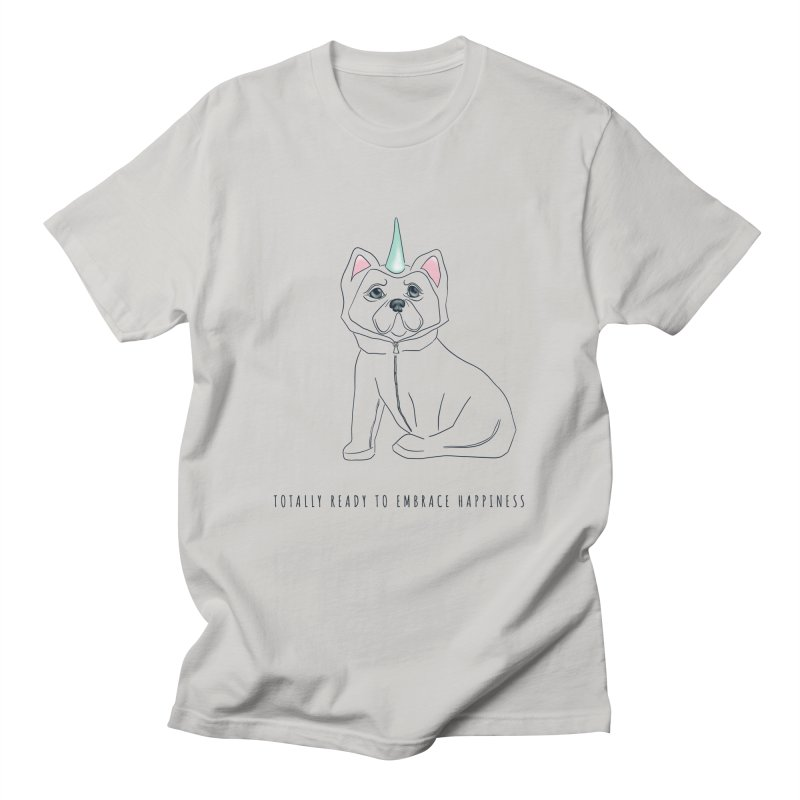 Totally ready to embrace happiness Women's T-Shirt by Kreativkollektiv designs