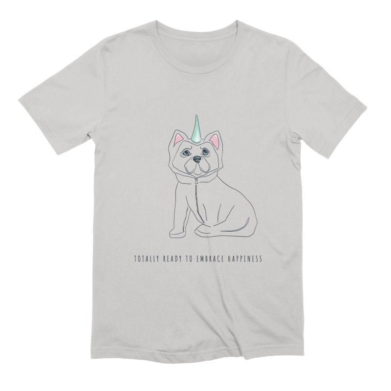 Totally ready to embrace happiness Men's T-Shirt by KreativkDesigns Artist shop
