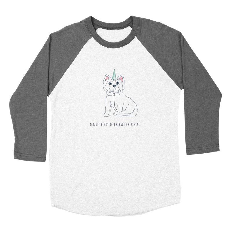Totally ready to embrace happiness Women's Longsleeve T-Shirt by Kreativkollektiv designs