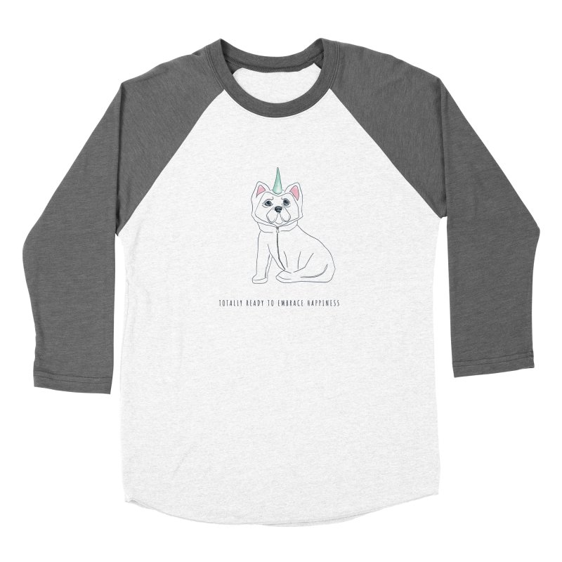Totally ready to embrace happiness Men's Longsleeve T-Shirt by KreativkDesigns Artist shop