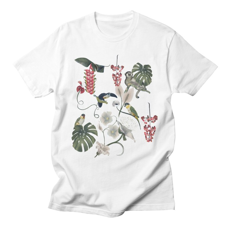 Where these animals live Men's T-Shirt by KreativkDesigns Artist shop