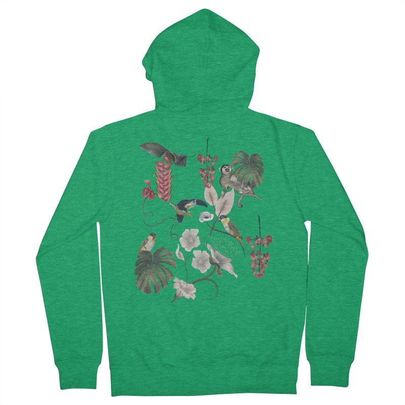 Where these animals live Men's Zip-Up Hoody by KreativkDesigns Artist shop