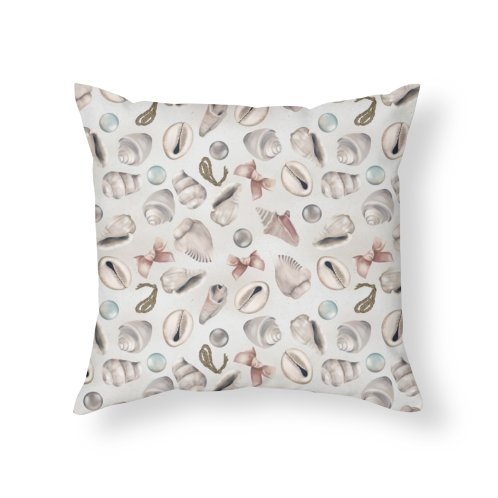 image for Pink and white seashells, pearls