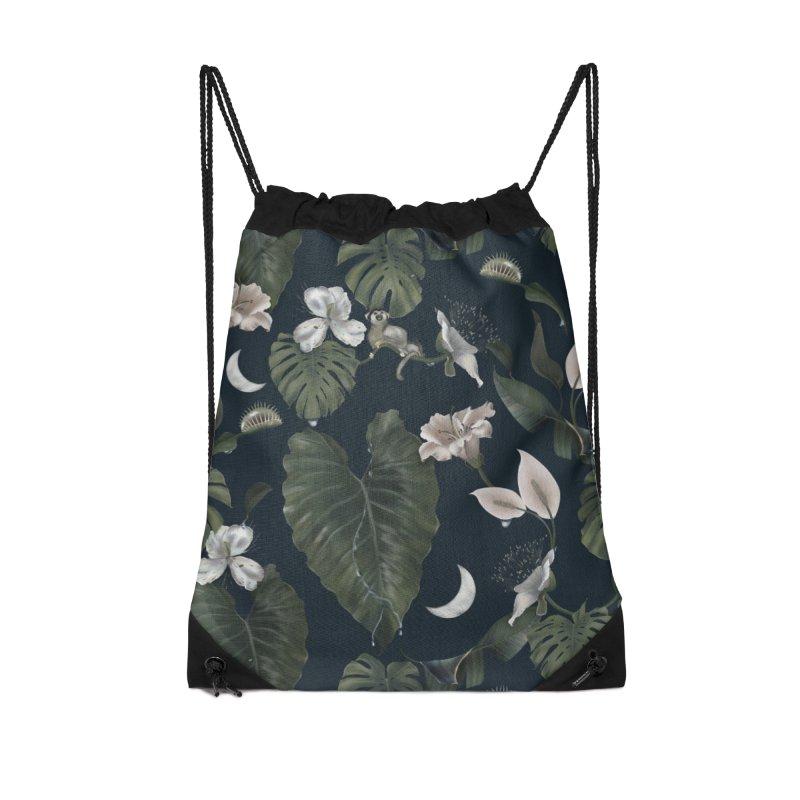 Tropical night Accessories Bag by Kreativkollektiv designs