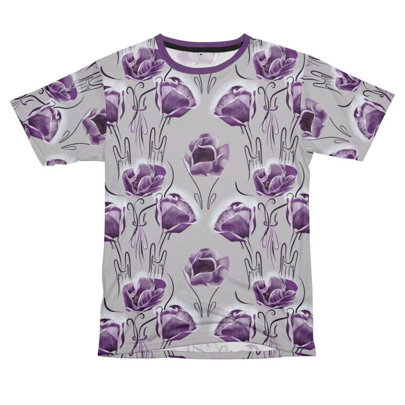 Sad purple anemones Women's Cut & Sew by Kreativkollektiv designs