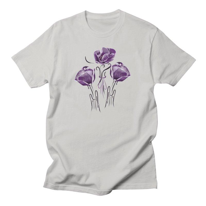 Sad purple anemones Women's T-Shirt by KreativkDesigns Artist shop
