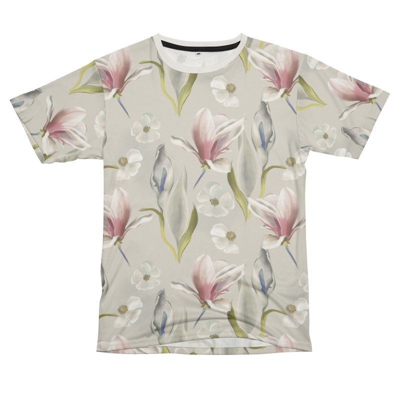 Romantic floral with pink blossoms Women's Cut & Sew by Kreativkollektiv designs