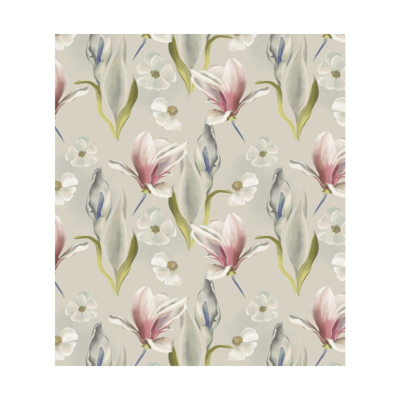 Romantic floral with pink blossoms Home Duvet by KreativkDesigns Artist shop