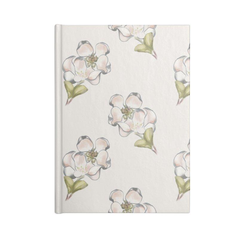 Apple tree blossoms Accessories Notebook by Kreativkollektiv designs