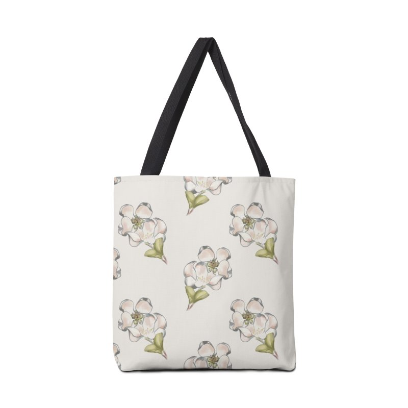 Apple tree blossoms Accessories Bag by KreativkDesigns Artist shop
