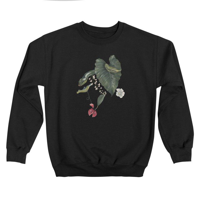 Two green snakes Women's Sweatshirt by Kreativkollektiv designs