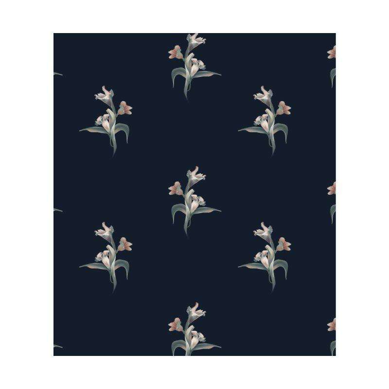 Pink and blue flowers Accessories Bag by Kreativkollektiv designs