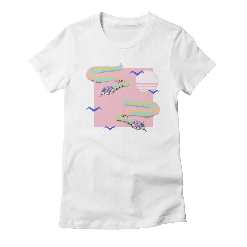 Summer snakes Women's T-Shirt by KreativkDesigns Artist shop