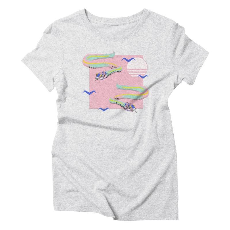 Summer snakes Women's T-Shirt by Kreativkollektiv designs