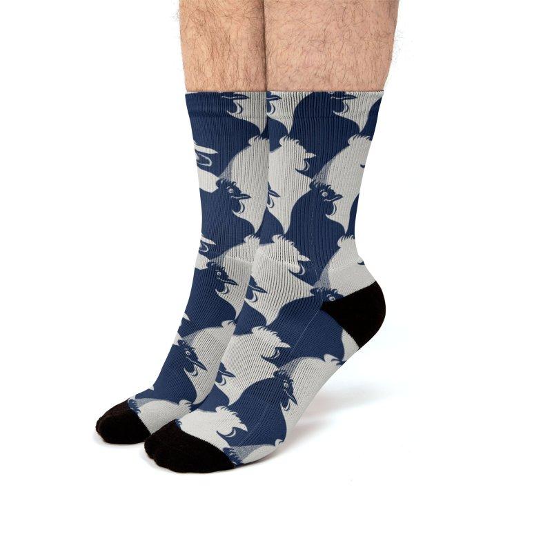 easy-going Men's Socks by Kreativkollektiv designs