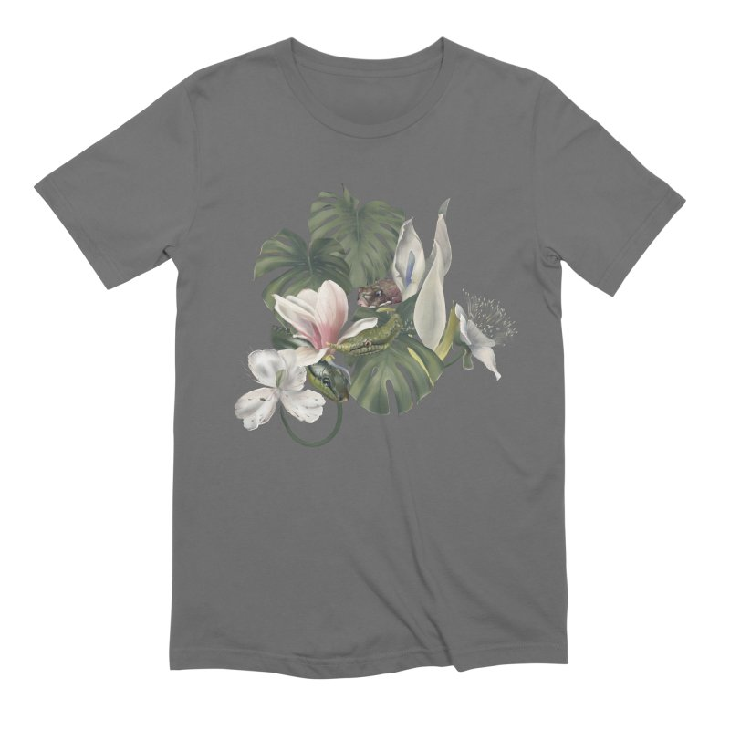 Three snakes and flowers Men's T-Shirt by Kreativkollektiv designs