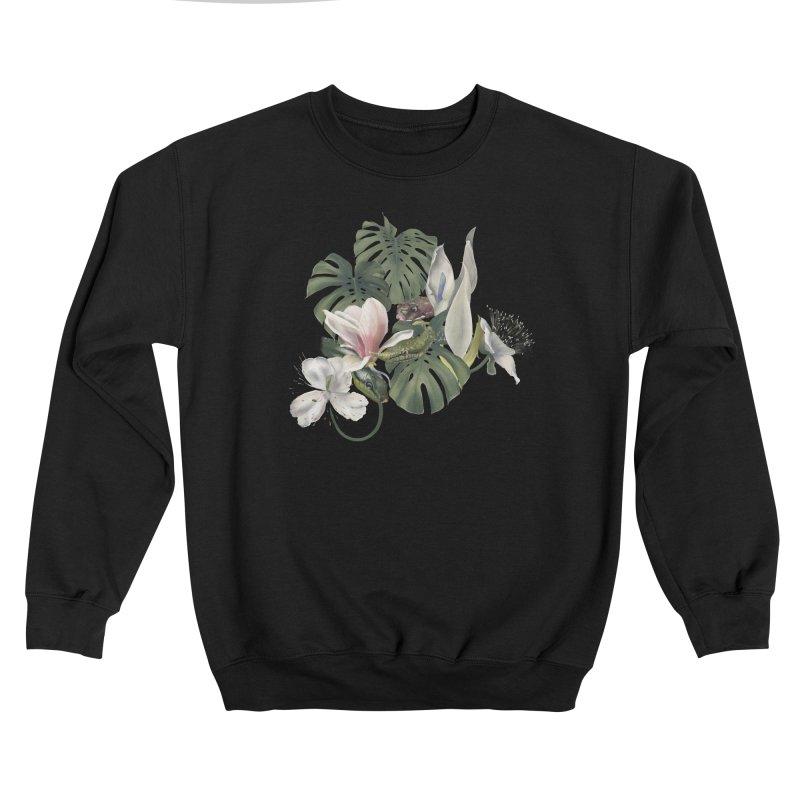 Three snakes and flowers Men's Sweatshirt by Kreativkollektiv designs