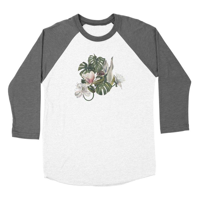 Three snakes and flowers Men's Longsleeve T-Shirt by Kreativkollektiv designs