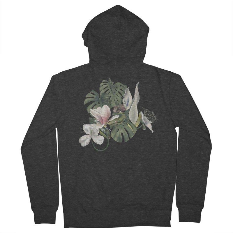 Three snakes and flowers Women's Zip-Up Hoody by KreativkDesigns Artist shop