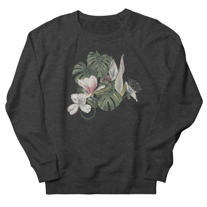 Three snakes and flowers Women's Sweatshirt by Kreativkollektiv designs