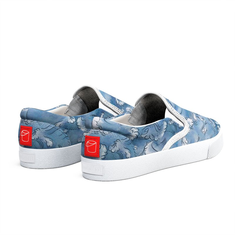 Stormy sea Men's Shoes by KreativkDesigns Artist shop