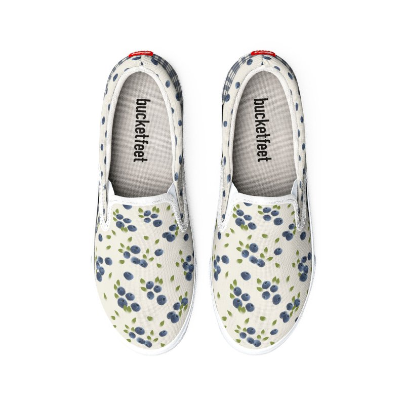 Blueberry by KreativKDesigns Women's Shoes by KreativkDesigns Artist shop