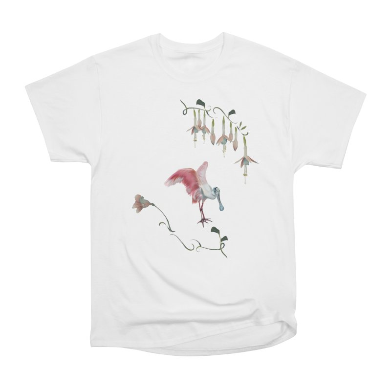 Gorgeous spoonbill Women's T-Shirt by KreativkDesigns Artist shop