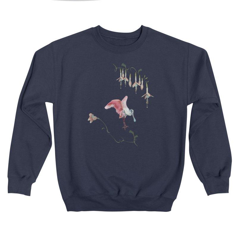 Gorgeous spoonbill Women's Sweatshirt by Kreativkollektiv designs