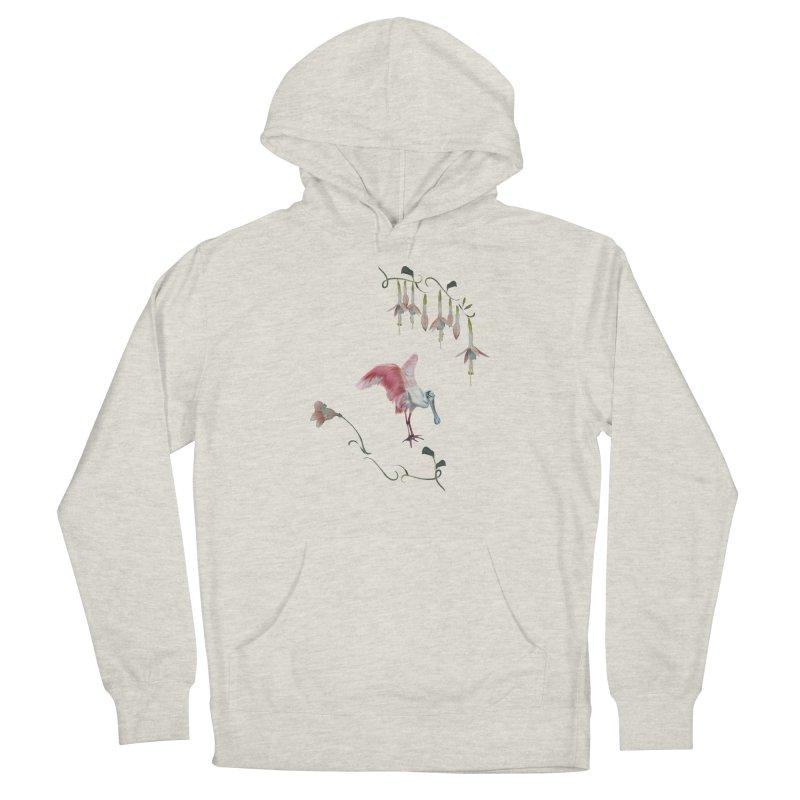 Gorgeous spoonbill Women's Pullover Hoody by Kreativkollektiv designs