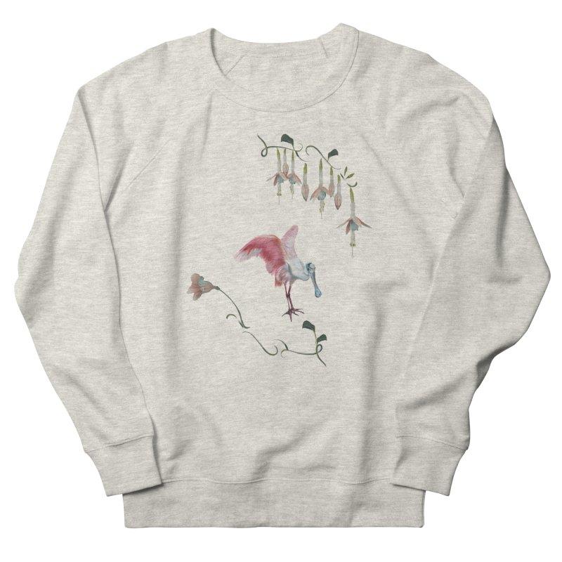 Gorgeous spoonbill Women's Sweatshirt by KreativkDesigns Artist shop