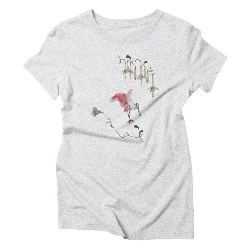 Gorgeous spoonbill Women's T-Shirt by Kreativkollektiv designs