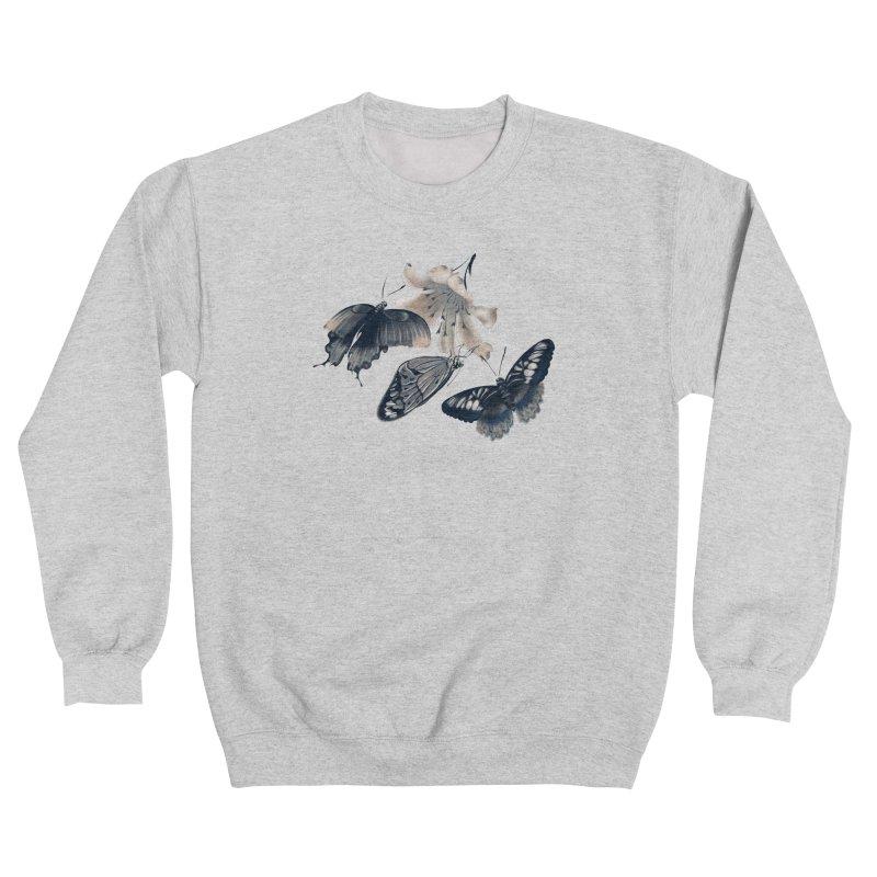 Beautiful butterflies and white flowers Women's Sweatshirt by KreativkDesigns Artist shop
