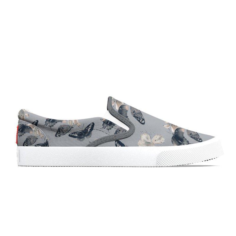 Beautiful butterflies and white flowers Women's Shoes by KreativkDesigns Artist shop