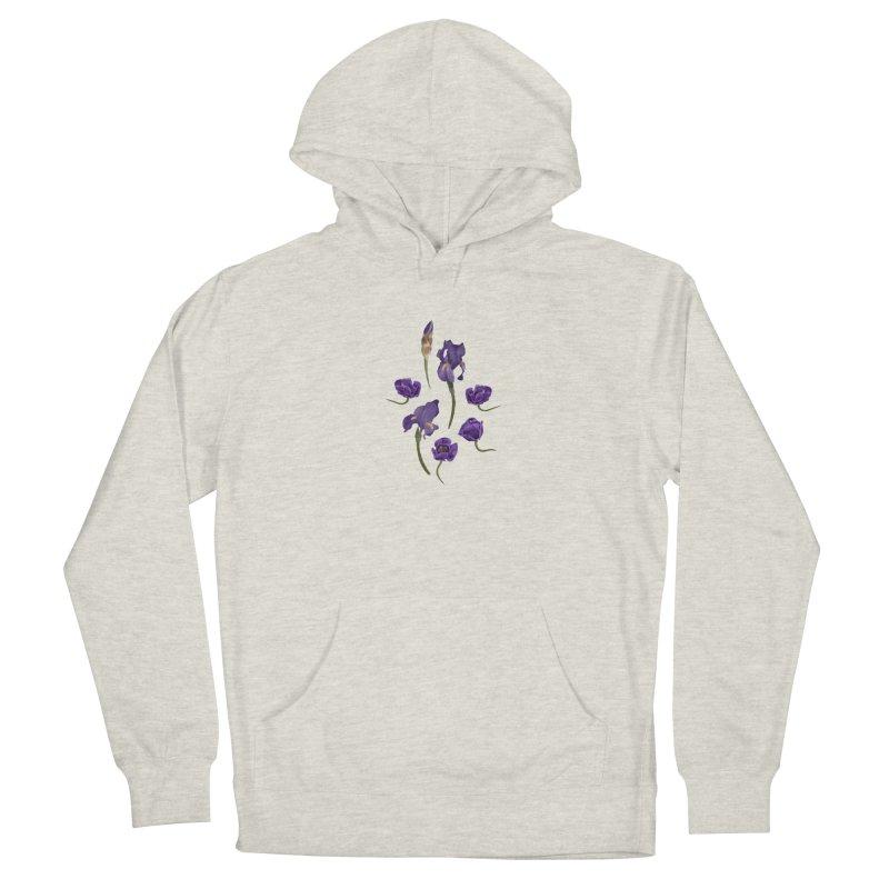 Purple flowers Women's Pullover Hoody by Kreativkollektiv designs
