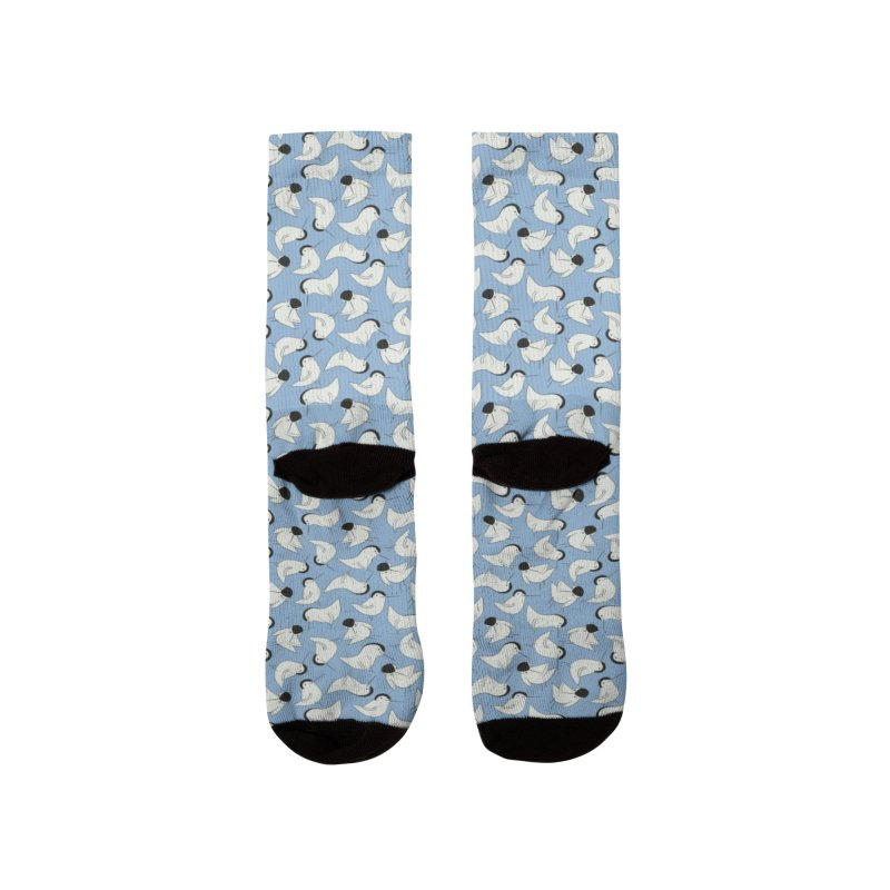 Birds Women's Socks by KreativkDesigns Artist shop