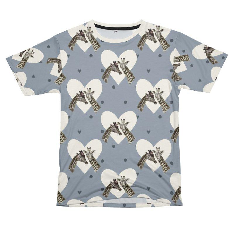 Two giraffes Women's Cut & Sew by KreativkDesigns Artist shop