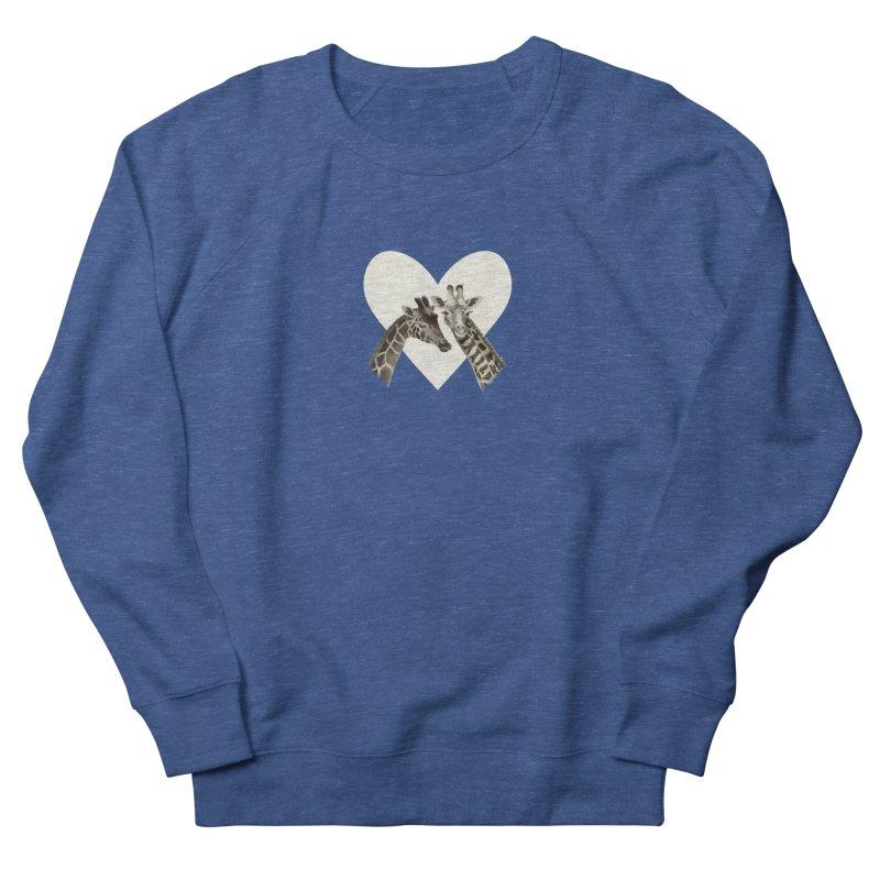 Two giraffes Women's Sweatshirt by Kreativkollektiv designs
