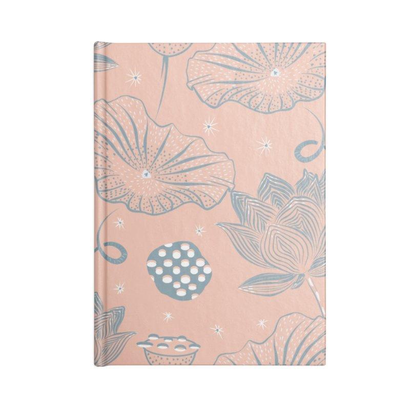 Beautiful lotus Accessories Notebook by Kreativkollektiv designs