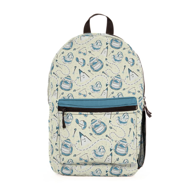 Cute hiking design Accessories Bag by KreativkDesigns Artist shop