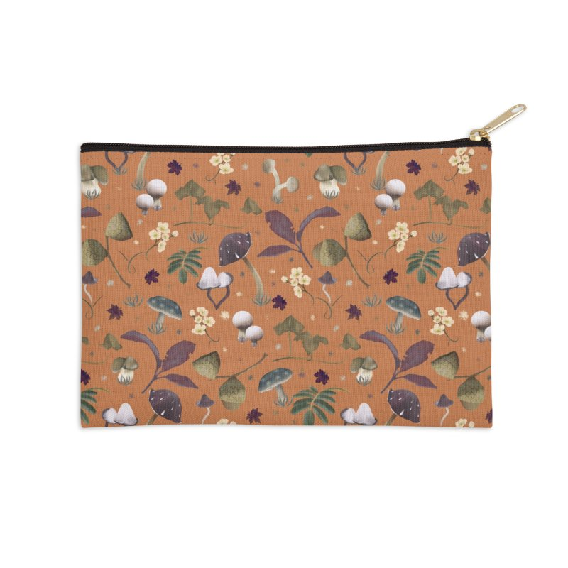 ready for fall Accessories Zip Pouch by KreativkDesigns Artist shop