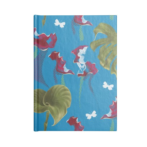 image for Tropical on blue background