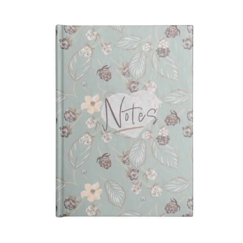 Wild blackberry Accessories Notebook by KreativkDesigns Artist shop